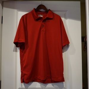 Grand Slam Performance Red Polo XL Men's
